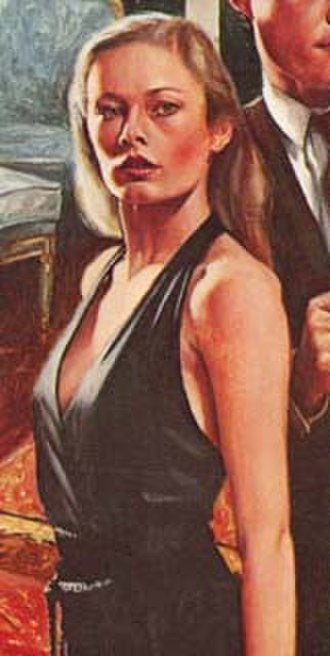 Patricia Holm - Patricia Holm, as depicted on the cover of a 1980s reprint of Meet – The Tiger!