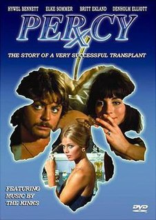 <i>Percy</i> (1971 film) 1971 British comedy film directed by Ralph Thomas