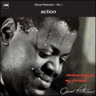 Action (Oscar Peterson album) - Image: Petersonaction