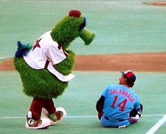 Mascot Hall of Fame - Image: Phillies Phanatic 5