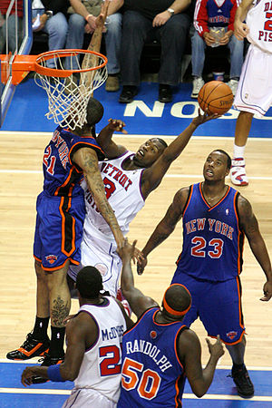 Rodney Stuckey - Stuckey in action