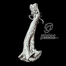 A white image resembling a marble statue of an abstract shape on a black background