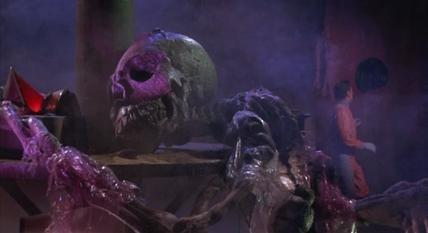 Planet of the vampires skeleton