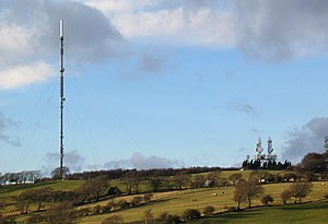 Pontop Pike transmitting station - Image: Pontop Pike