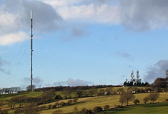 Annfield Plain - Pontop Pike transmission mast