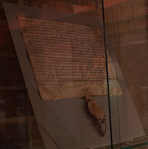 William II Longespée - The Charter for the town of Poole issued by Longespée