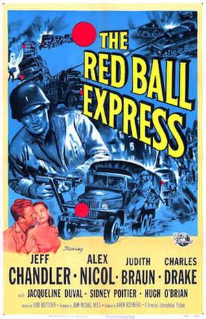 Red Ball Express (film) - Image: Poster of the movie Red Ball Express