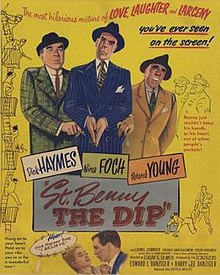 Poster of the movie St. Benny the Dip.jpg