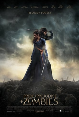 Pride and Prejudice and Zombies (film) - Theatrical release poster