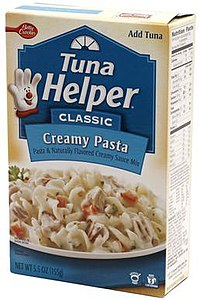 Hamburger Helper Wikipedia: tuna and philadelphia pasta
