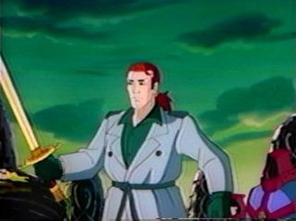 Highlander: The Animated Series - Connor MacLeod as depicted in the series.