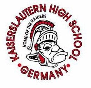 Kaiserslautern High School - Image: Raider 3