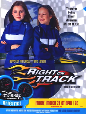 Right on Track - Promotional poster