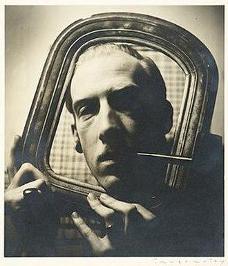 Robert Bruce Inverarity - Robert Bruce Inverarity, self-portrait, 1938. Robert Bruce Inverarity papers, Archives of American Art, Smithsonian Institution.