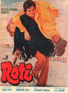 <i>Roti</i> (1974 film) 1974 Indian film directed by Manmohan Desai