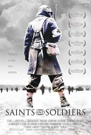 Saints and Soldiers - Theatrical release poster