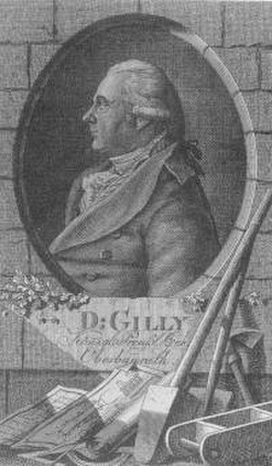 David Gilly - David Gilly, from a frontispiece