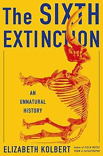 <i>The Sixth Extinction: An Unnatural History</i> popular science book