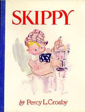 Skippy (comic strip) - Percy Crosby's Skippy novel (Grosset & Dunlap, 1929)