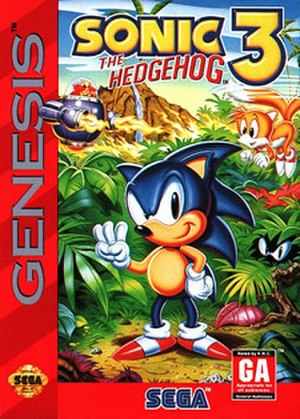 Sonic the Hedgehog 3 - North American cover art