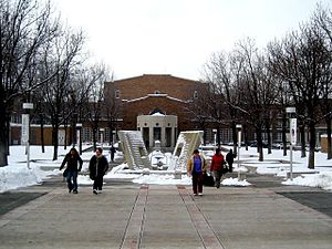Salt Lake Community College - East Entrance of South City Campus