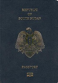 South Sudanese passport - Wikipedia