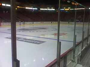 Philadelphia Phantoms - The Phantoms' ice rink at the Spectrum.