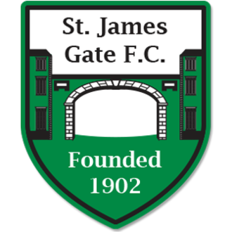 St James's Gate F.C. - Image: St. James Gate F.C. crest