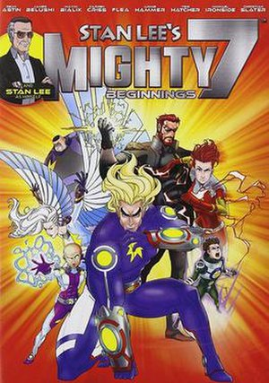 Stan Lee's Mighty 7 - DVD cover