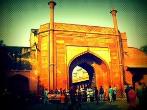 Taj Mahal Marathon - The Eastern gate of Taj Mahal, Agra, is the start line of The Taj Mahal  Marathon spread across 222km on the west of the country