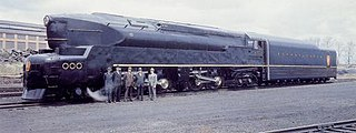 Pennsylvania Railroad class T1 class of 52 American four-cylinder duplex 4-4-4-4 locomotives