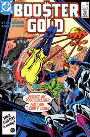 100 (DC Comics) - Booster Gold versus the 1000, artist Dan Jurgens