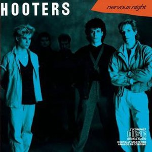 Nervous Night (album) - Image: The Hooters Nervous Night