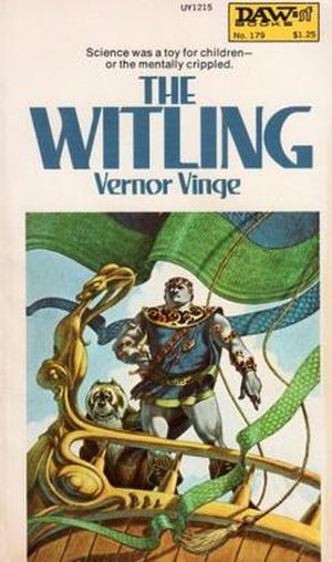 The Witling - First edition (publ. DAW Books) Cover art by George Barr