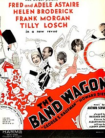 The Band Wagon (musical) sheet music.jpg