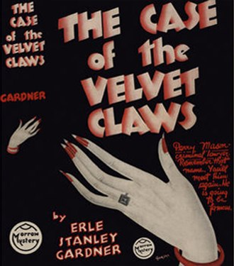 Perry Mason bibliography - The Case of the Velvet Claws (1933), first edition