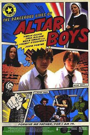 The Dangerous Lives of Altar Boys - Theatrical release poster
