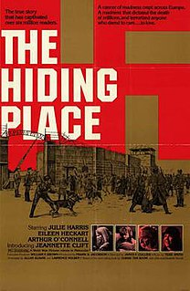 <i>The Hiding Place</i> (film) 1975 film by James F. Collier