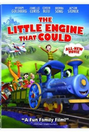 The Little Engine That Could (2011 film) - DVD cover