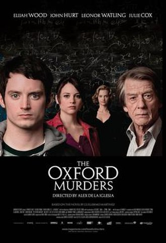 The Oxford Murders (film) - American theatrical release poster