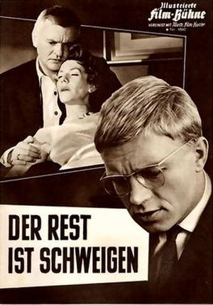 The Rest Is Silence (1959 film) - Film poster