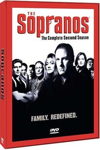 The Sopranos (season 2) - Image: The Sopranos S2 DVD