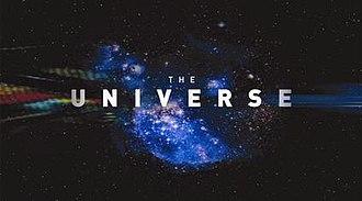 The Universe (TV series) - Title screenshot of Seasons 1–3.