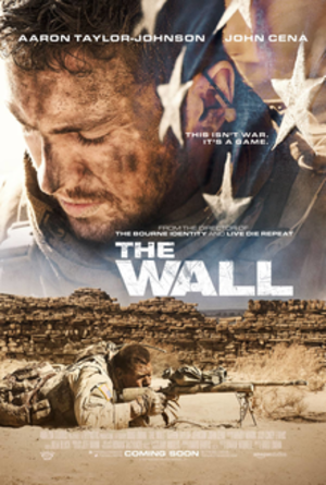 The Wall (2017 film) - Theatrical release poster