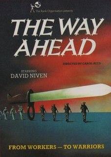 <i>The Way Ahead</i> 1944 war film by Carol Reed