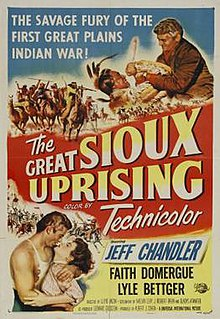 The poster of the movie The Great Sioux Uprising.jpg