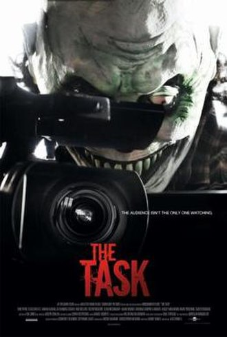 The Task (film) - Theatrical release poster
