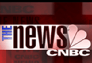 The News with Brian Williams - The logo of The News on CNBC