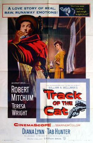 Track of the Cat - Theatrical release poster