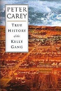 <i>True History of the Kelly Gang</i> 2000 novel by Peter Carey